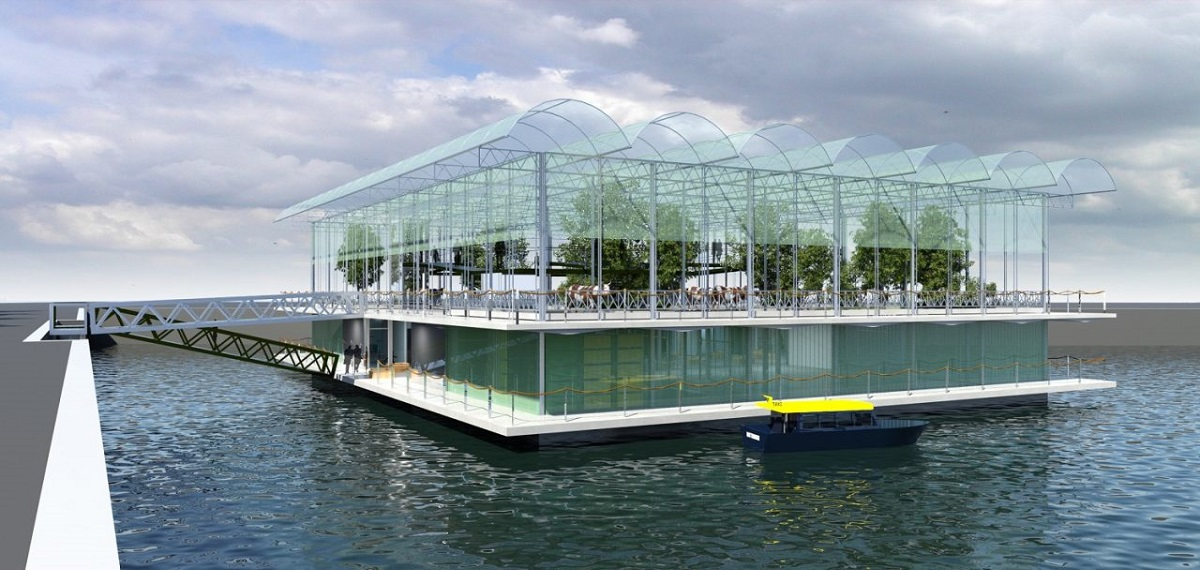 Floating farm
